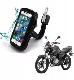 Suporte Guidão Capa Protetora Impermeável Celular Moto Bikes