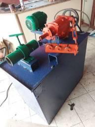 Máquina de fazer, fabricar tela para Alambrado (Tudo na descrição, leiam).