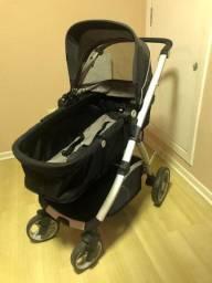 Carrinho de bebê Maly + bebê conforto + base - dzieco