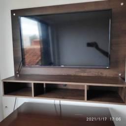 Tv Led Philco PH32E53SG com painel de parede