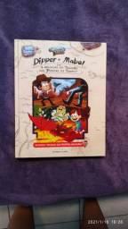 Livro Dipper e Mabel em: A Maldição do Tesouro dos Piratas do Tempo! Gravity Falls