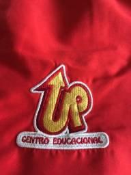 Calça de uniforme da escola up