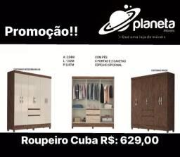 Título do anúncio: Guarda roupa de casal barato Cuba
