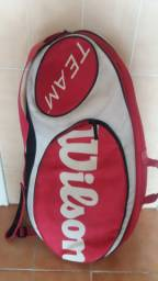 Raqueteira de Tênis e Raquetes Wilson