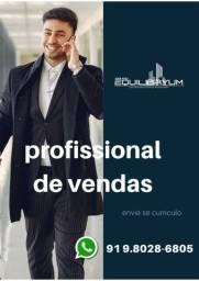 Título do anúncio: Profissional de vendas