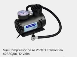 Mini compressor de ar automotivo