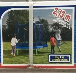Pula Pula, Trampolim, Cama elastica, My first trampoline NOVO