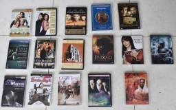 Vendo conjunto de DVDs diversos