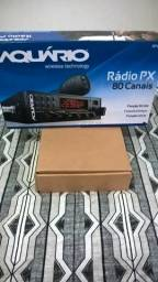 Rádio Px Aquário Rp-80 completo novo na caixa