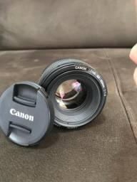 Lente Canon Lens Ef 50mm 1:14 Profissional