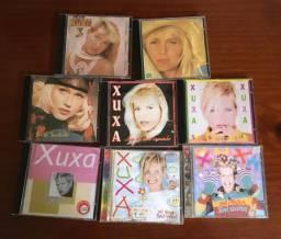 Lote de 8 CDs da Xuxa
