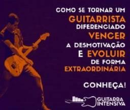 Curso de guitarra profissional online, seja o melhor do Brasil!