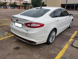 Ford Fusion Titanium Turbo Branco 2014 com somente 46 mil km rodados de único dono - 2014