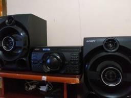 Troco mini system Sony funcionando100% leia o anúncio