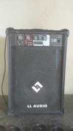 Caixa de som Amplificado/aceito cartão