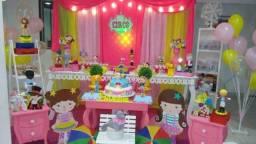 Pacote infantil buffet completo