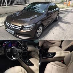 Mercedes C180 2016 - GPS, cam e DvD - 2016