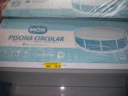 Piscina MOR Redonda 5500 lts nova com todos equipamentos