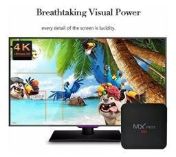 Transforma Tv Em Sua Tv Smart Box 4k 5g 4/32gb Android 10.1