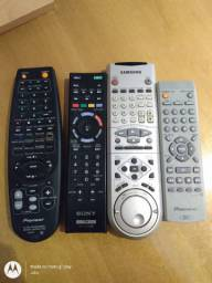 4 Controles remotos