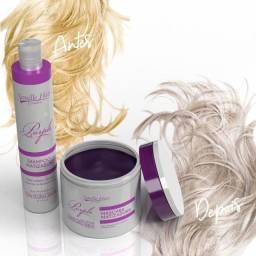 Kit Manutenção Matizador Purple Power Loiros Semelle Hair