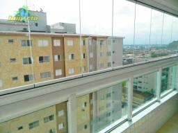 Título do anúncio: Apartamento com 3 dormitórios à venda, 104 m² por R$ 600.000 - Canto do Forte - Praia Gran