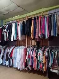 Vendas de roupa de brechó