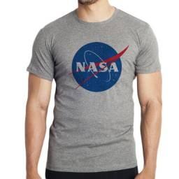 Camiseta Logo Nasa - Mescla