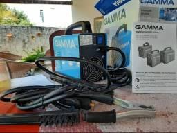Máquina inversora de solda Gamma ARC 160amp/220v com 1(um) ano de garantia.