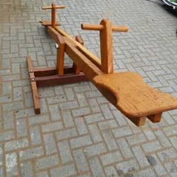 Gangorra madeira