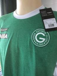 Camisa do Goiás - Tam G - Em tecido, original Topper, nova na etiqueta