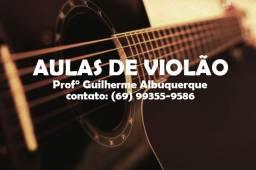 Aulas de violão particular
