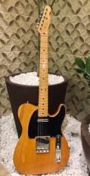 Guitarra fender telecaster reissue 52 made in japan com captadores fender noiseless