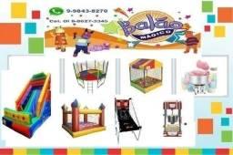 Aluguel de cama elástica, Aluguel de brinquedos para Festas e Eventos
