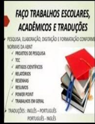 Trabalhos acadêmicos e declaração de atividades complementares