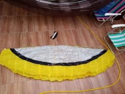 Pipa acrobática parafoil, simula kite grande 2.4 metros