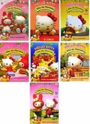 Coleção com 7 Dvds Hello Kitty , Novos, originais e lacrados