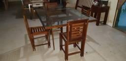 Vendo Mesa com 4 Cadeiras - Frete Grátis