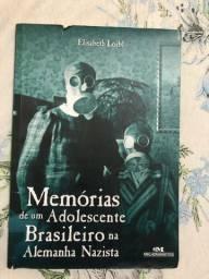 Livro Memórias de um Adolescente Brasileiro na Alemanha Nazista