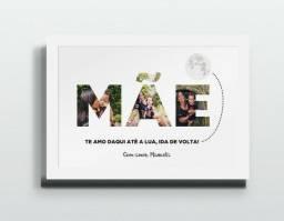 Presente de dia das mães Placas decorativas em MDF valores na descrição