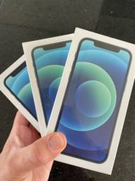 IPHONE 12 64GB AZUL LACRADO (Aceito Cartão)