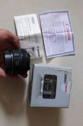 Lente Canon Original 50mm 1.8