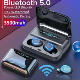 Mini Fones De Ouvido Bluetooth 5.0 Tws Fone De Ouvido Sem Fio Esportivo