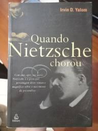 """Livro """"Quando Nietzsche chorou"""""""