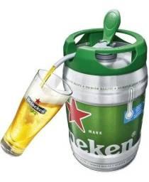 Vendo barril da Heineken 5 lt