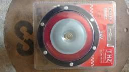 Buzina de Caminhao eletromagnetica, 24 volts modelo THZ 113