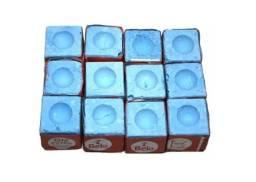 Giz Azul 7 Belo, para Bilhar, Sinuca / 12 unidades