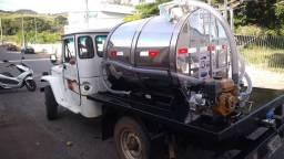 Tanque transporte leite