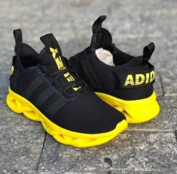 Adidas Maverick preto amarelo (PROMOÇÃO)