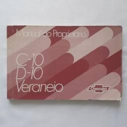 Manual da C10, D10 e Veraneio 1980
